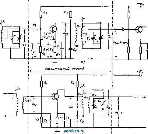 Типы электронных усилителей.